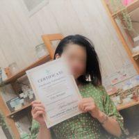 クレイセラピスト養成講座ご卒業5/20