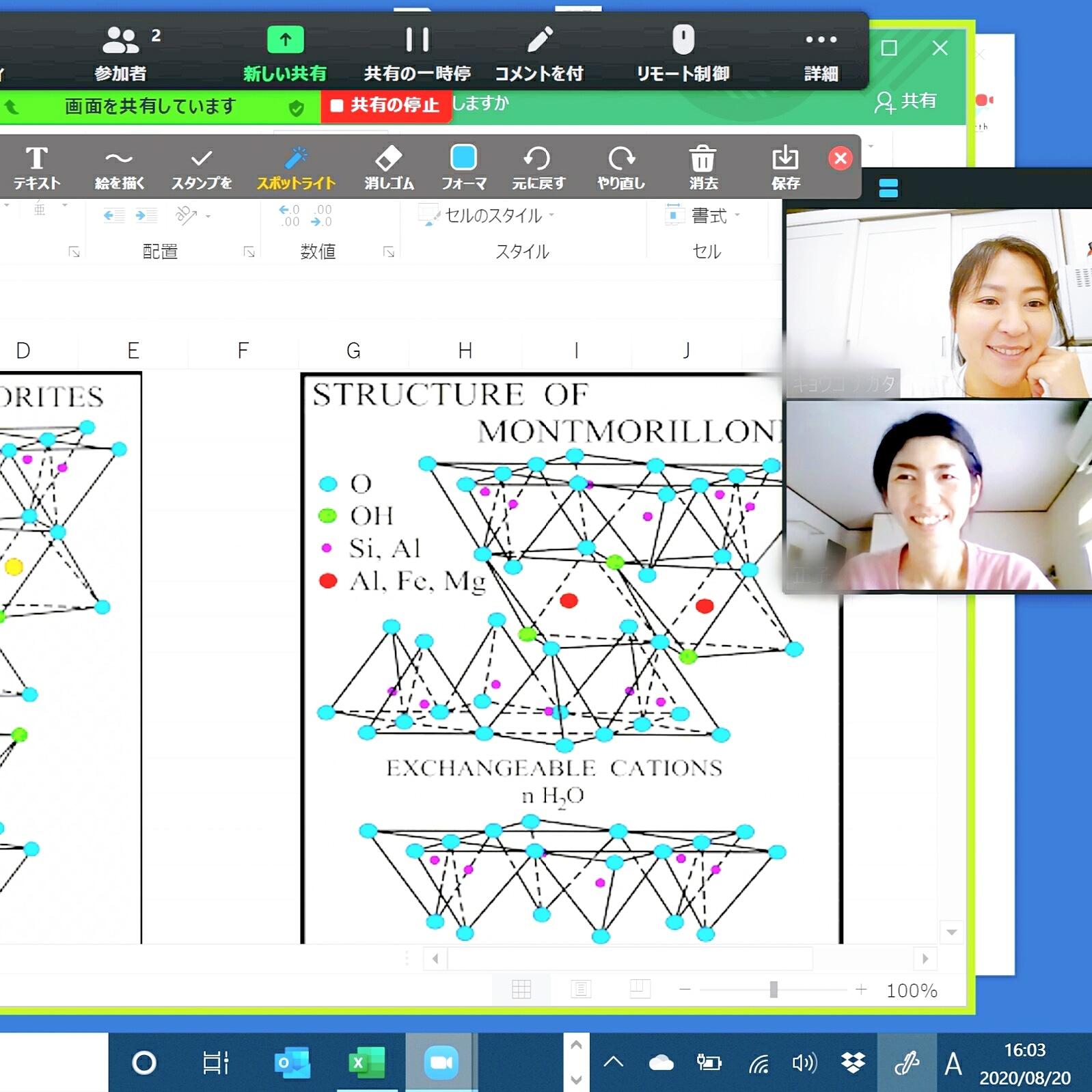 クレイセラピー理論オンライン講座