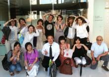 アロマとクレイのナチュラルセラピースクールEarth@大阪-アメカフェ集合写真